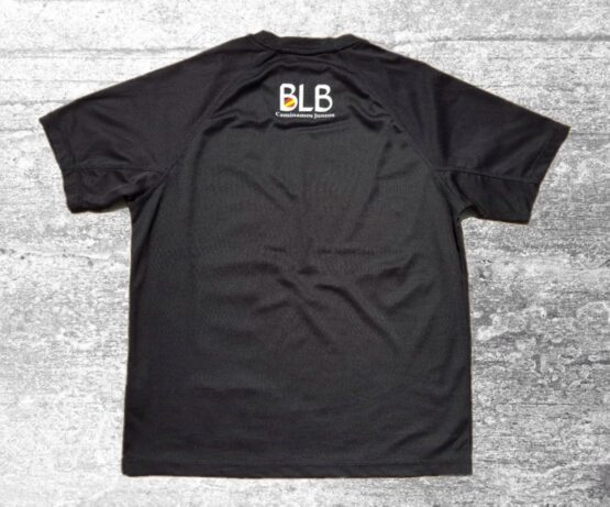 camiseta de mujer blue life brothers parte trasera