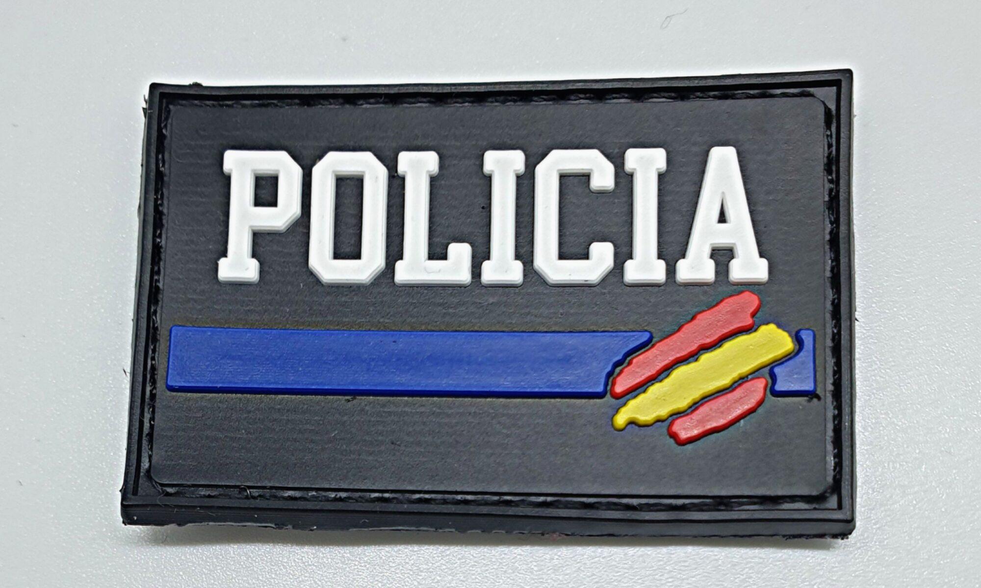 Parche Policía en pvc